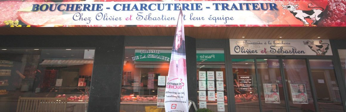 Artisan Boucher Boucherie Chez Olivier et Sébastien Ciney Charcuterie Traiteur Buffets Menus Spécialités Fêtes